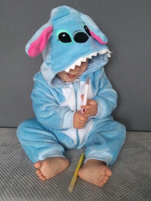 combinaison bebe stitch